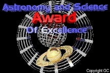 Astronomy and Science Award of Excellence