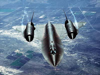 The Lockheed SR-71 Blackbird